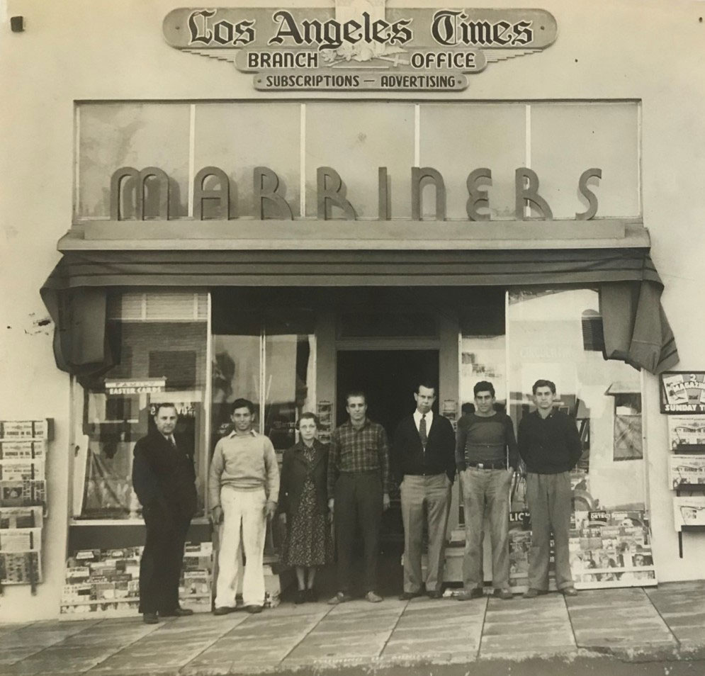 The Marriners LA Times