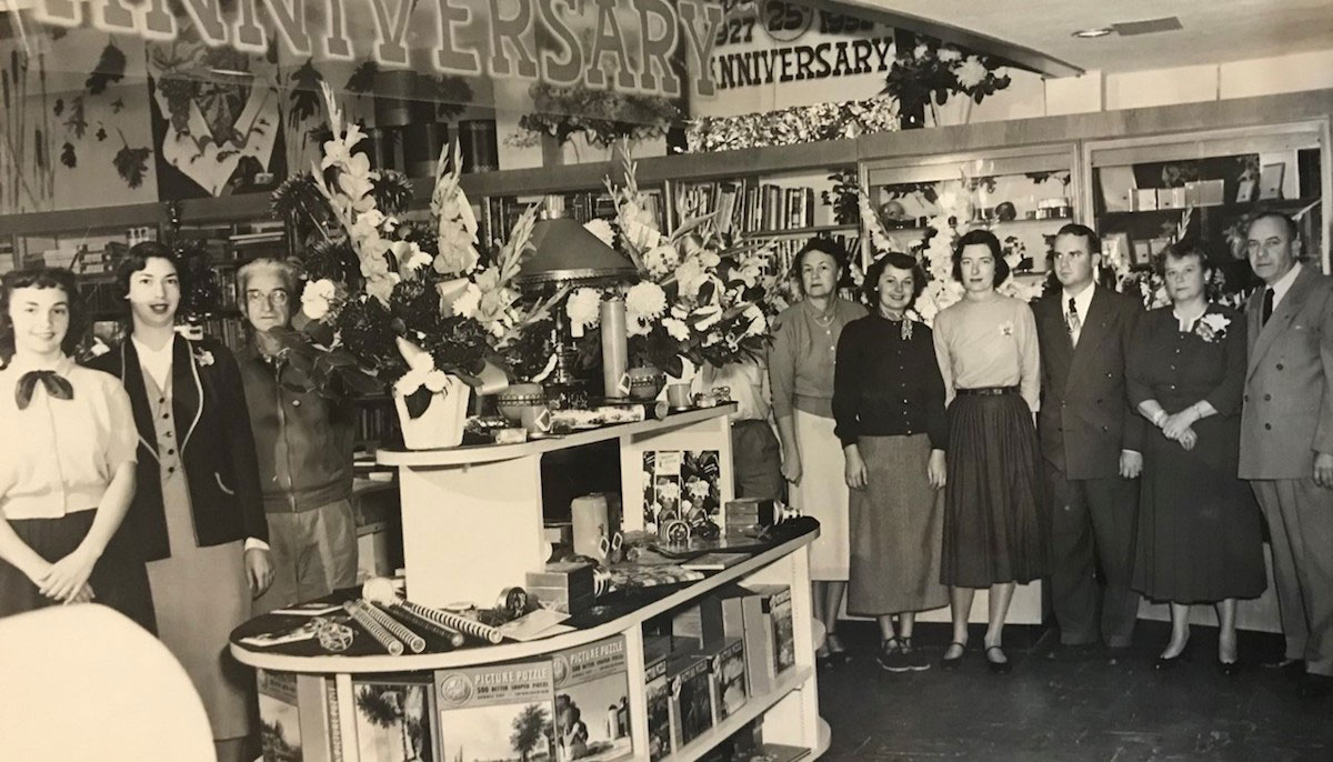 The Marriners inside store