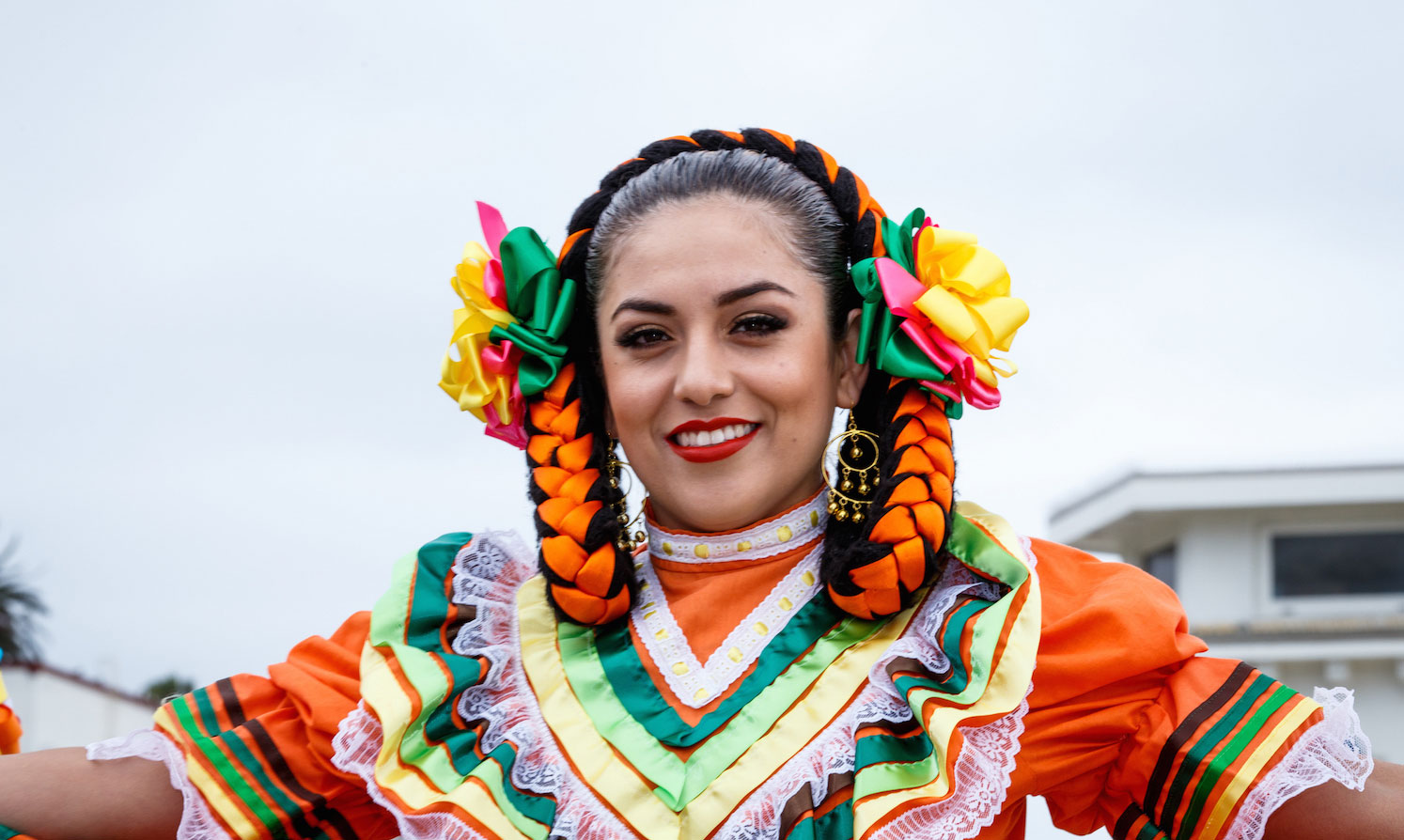 12th annual Fete Folkloric Dancer